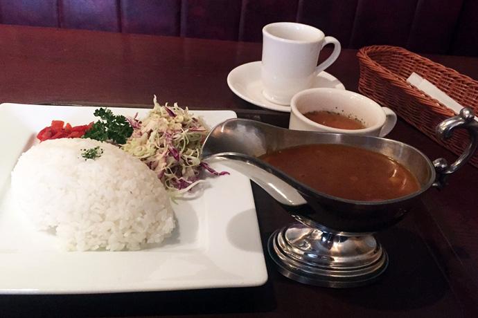 第7回 喫茶神戸館のカレーランチ