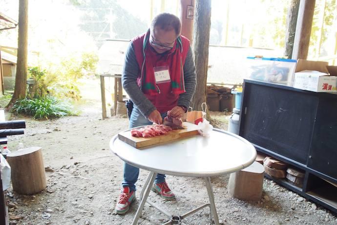 しもやま里山ホームステイ 猪肉
