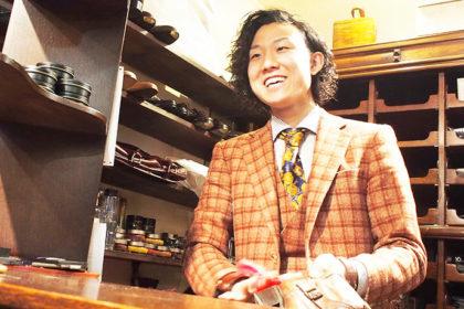 靴磨き職人 佐藤我久さん