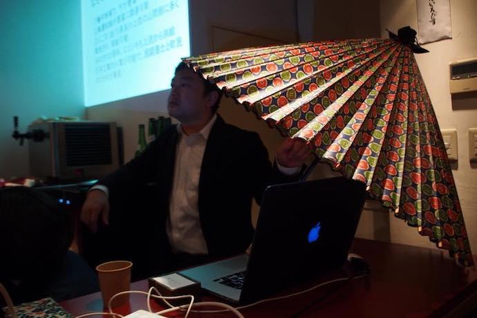 【しごとバー@名古屋「長良川の手仕事 和傘ナイト」開催レポート】